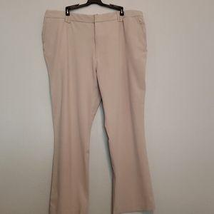 Merona Tan Wide Leg Work Office Pants